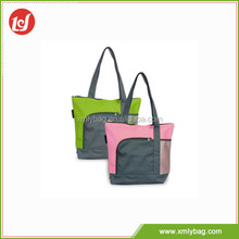 Exquisite fashional polyester custom made shopping bags