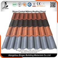 Guangzhou Galvalnized Roofing Sheet Price, Stone Chips Coated Metal Aluminum Zinc Color Roof Price Design Price In Philippines