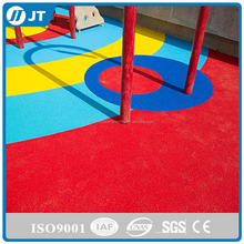 Colored EPDM Rubber playground Flooring For Kindergarten floor JT-G0012
