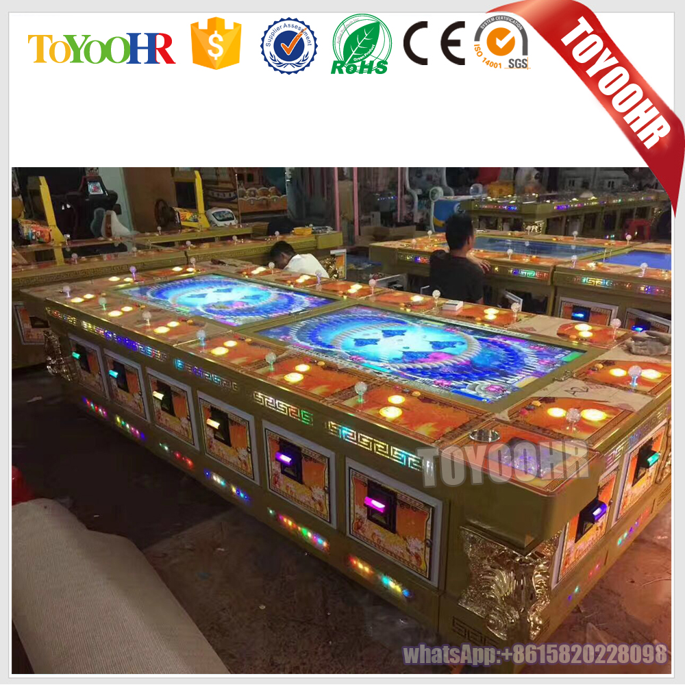Bill acceptor Amusement Shotting Fish Game Machine arcade shooting fish table for gambling