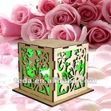 Wedding Supplies Wood Candy Boxes