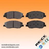 Santa Entourage Genesis Sorento Carnival Korando Actyon Brake Pad 58101-2PA70 58101-0WA00 SP1194 SP1248 asian car brake pad