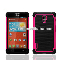 Made in China fashionable mobilephone shell supplier for lg us780,waterproof case for lg optimus