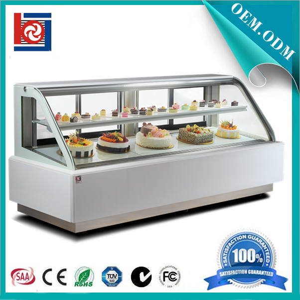 CE RoHS Fan Cooling System Cake Display Cooler