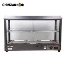 good price stainless steel high standard food warmer showcase/cabinet
