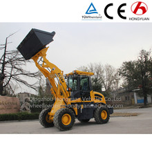 Hongyuan brand ZL16F Hoflader small farm front tractor mini loader for sale/mini tractor/front loader tractor