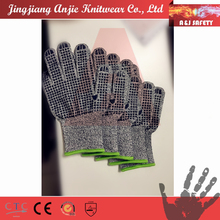 A&J Silicon dotted Food Grade heat resistant Cutting Gloves