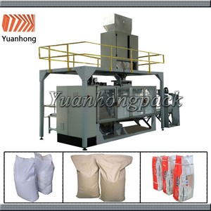25KG 50KG Automatic Big Bag Fertilizer Packing Machine