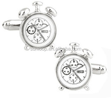 wholesale mens customize high quality steampunk movement watch cufflinks
