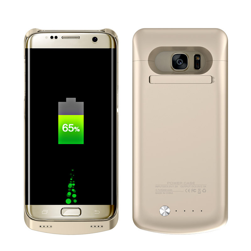 Smartphone rechargeable battery case for samsung galaxy s7 edge