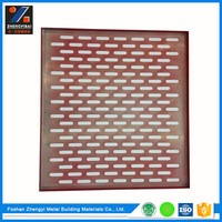 High Quality Perforated Aluminum pop ceiling design for office