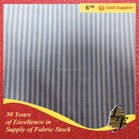 mens cotton plaid stripe shirt fabric stocklot 6506-54