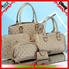 Western style handbag 5 pcs set PU leather bags and purse for ladies