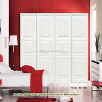 canvas double color wardrobe shutter with door prices