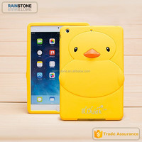 Kids Shockproof cute cartoon silicone case for ipad mini tablet case