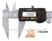 "118-310 0-100mm/0-4"" Big LCD New Type Mechanical Slide Pointed-Jaw Digital Gauges Measurements"