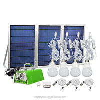 30W solar panel light system kits /chargeronline shopping and fast shipment