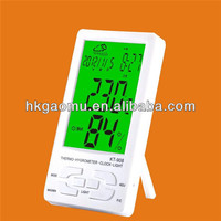 GM908 KT-908 Green LED Indoor Digital Wall Mounted Thermometer