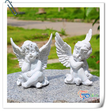 Resin small lovely cupid angel statue valentines day gifts