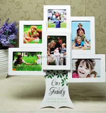 Family Tree Photo Frame, Couple Photo Frame, Wood Picture Frame