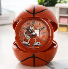 High quality foldable cartoon alarm clock / apple shaped alarm clock / Photo Frame Alarm Clock