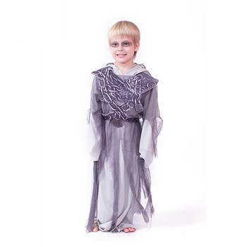 Professional custom halloween costume ideas boy devil gauze reaper costume cosplay for kids