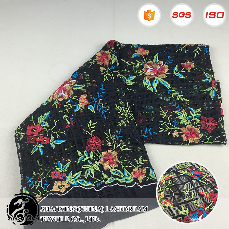 Wholesale african bazin riche guinea100% polyester flower fabric on sale