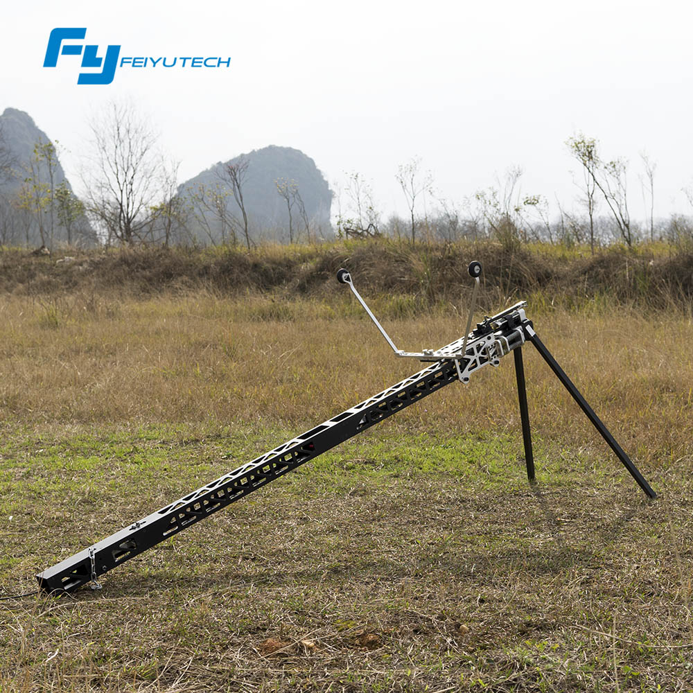 FeiyuTech newest mini catapult for fixed wing aerial surveying and mapping uav plane taking off