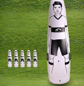 high quality portable inflatable air dummy, inflatable air football training dummy, inflatable air soccer training dummy