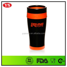 Customized insulated double walled thermal mug with logo imprinting