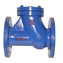 API 6D Flanged stainless steel Swing Check Valve Manufacturers