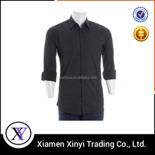 Custom Natural Cotton Eco Friendly Plain Fashion Mens Heavy Cotton Shirts