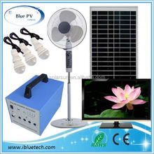portable solar cell panels solar room light control system
