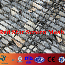 #250 55 and 65Mn High Tensile Sand and Gravel Screen Mesh for Vibrating Screen