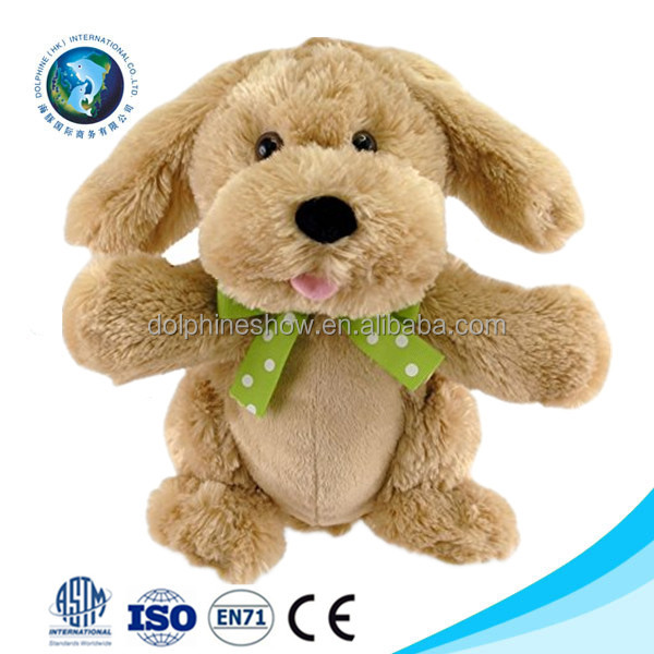 Fashion cute stuffed plush dancing dog toy wholesale custom cartoon soft plush pattery operated walking dog toy