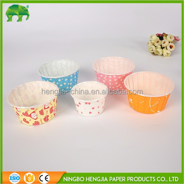 Wholesale new cupcake cases paper souffle nut cups