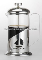 Stainless steel French coffee pot (350ML) top quality
