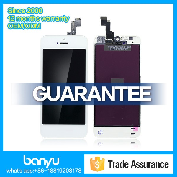 Chinese manufacturer supply lcd digitizer for apple iphone 5s screen