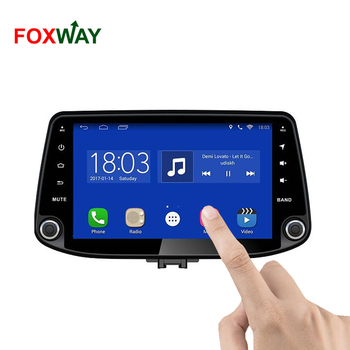 FOXWAY factory android car dvd player for Hyundai I30 with audio radio multimedia gps navigation system