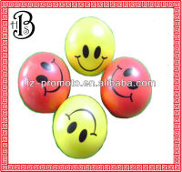 factory directly pu anti stress smiling ball