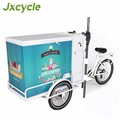 2017 new design street use mobile ice cream push cart for sale