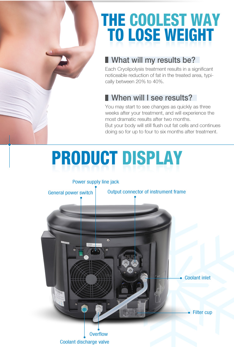 HC beauty best selling body contouring cryotherapy machine price