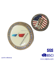 Customized American Airlines patterns with sticker badge