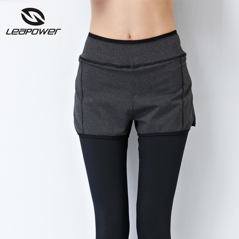With short under latest design ladies sports yoga customized gym Leggings