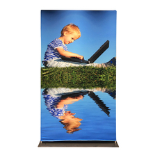 Bellavim EZ tube banner stands for advertising and exhibition