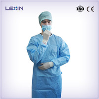 Disposable ultrasonic surgical gown