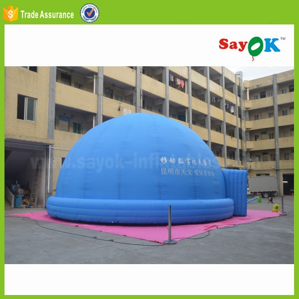 inflatable party air dome tent inflatable planetarium projection dome tent price