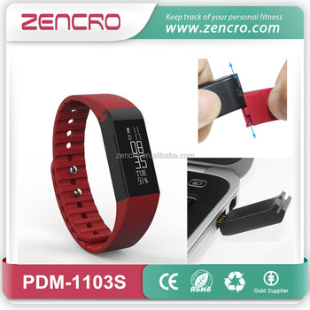 long work time wireless fitness tracker smart wristband for treadmill