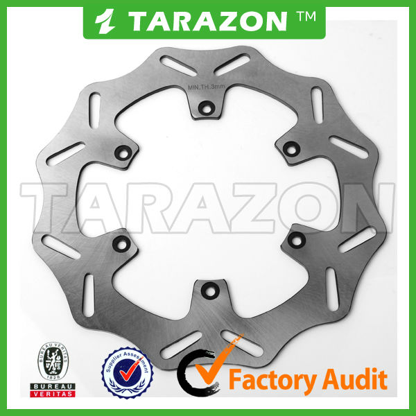 Husaberg 260MM Front Stainless Steel Solid Brake Disc Disk Rotor For FE 400