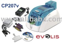 Cp207 Evolis Pebble Card Printer Bundle